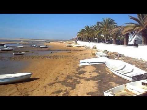 Praia da Fabrica Beach Ria Formosa Algarve (HD)