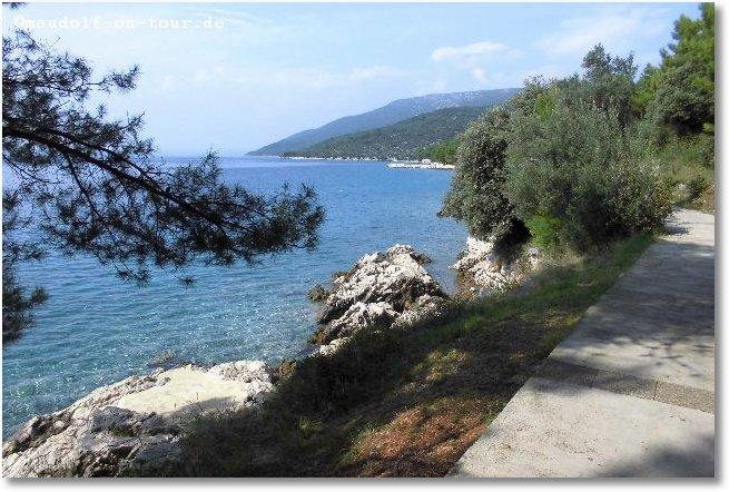 2014 09 21 Kovacine 04 Fahrradtour entlang dem Meer