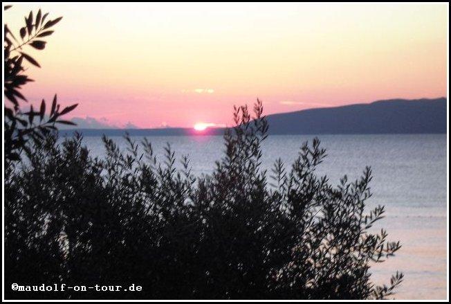 2014 09 25 Kovacine 07 Sonnenuntergang