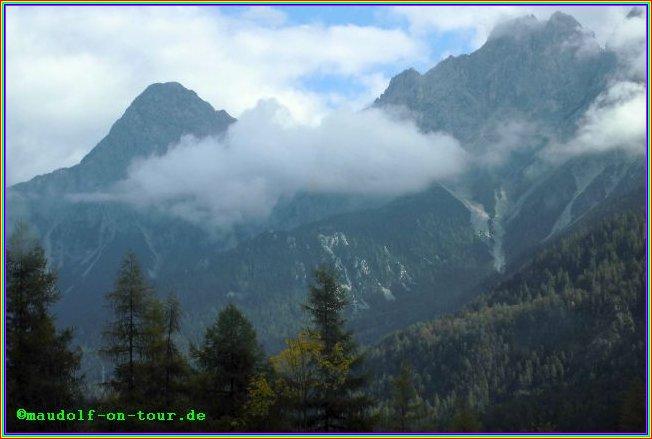 2014 10 02 Kovacine 08 Rückreise Wetter Zugspitzsicht