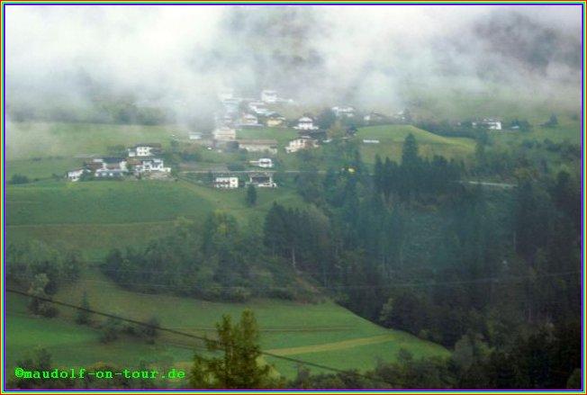 2014 10 02 Kovacine 09 Rückreise Wetter alte Brennerstrasse