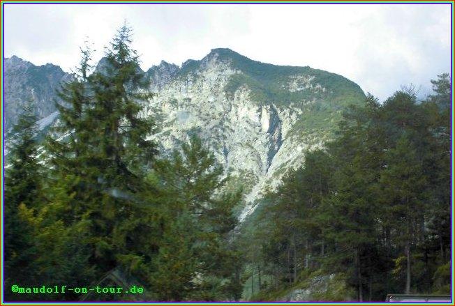 2014 10 02 Kovacine 13 Rückreise Zugspitzsicht