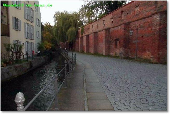 2014 10 03 Rückreise Ruhetag Memmingen 13 Stadtmauer