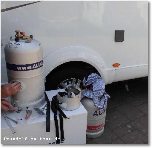 2015-06-17 Einbau Tankgasflasche 01