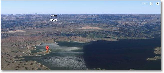 2015-10-13 Standort Pego do Altar bei Santa Susana