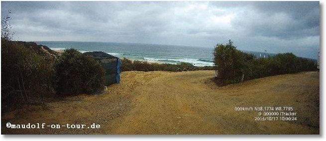 2015-10-17 Anfahrt Praia da Alberta Nova 5
