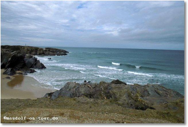 2015-10-19 Pause kurz vor Porto Cova 01