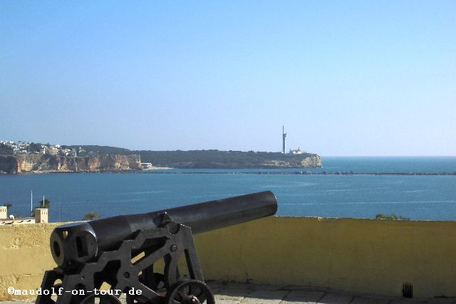 2015-11-11 Aussichtspunkt Beginn Praia da Rocha