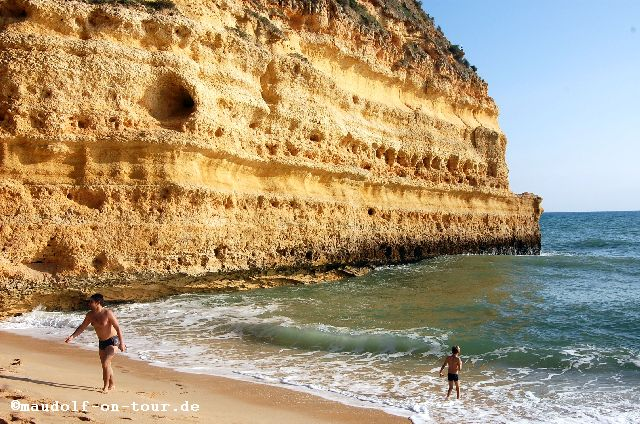 2015-11-15 Praia da Marinha am Strand 04