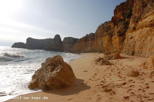 2015-11-15 Praia da Marinha am Strand 06