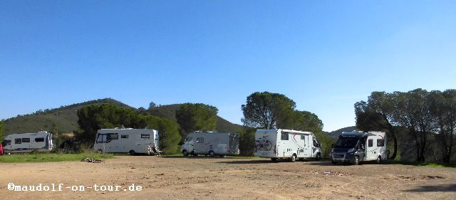 2015-11-18 Barragem do Arade Stellplatz