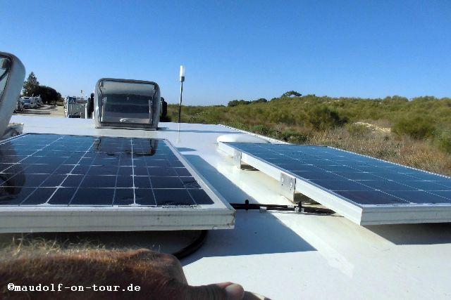 2015-11-29 Solarplatten sauebern