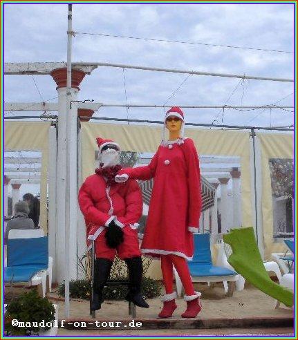 2015-12-08 Praia do Barril Nikolaus mit Nikoline