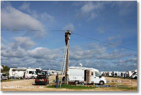 2016-01-09 Stromanlage Reparatur