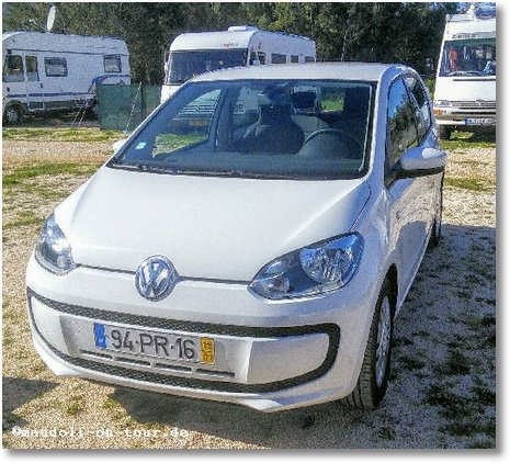 2016-01-15 Leihwagen VW UP 1