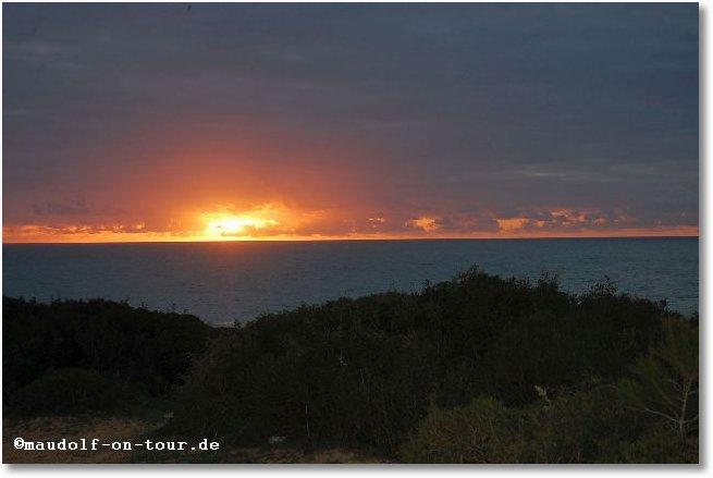 2016-02-25 Playa del Puerco bei Cabo Roche Sonnenuntergang 4