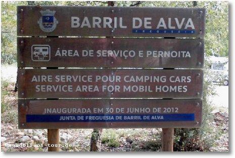 2016-10-15 Stellplatz bei Barril de Alva 2