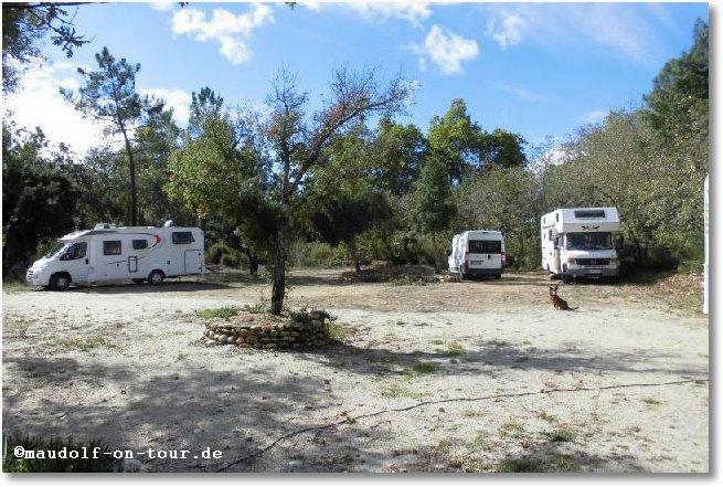 2016-10-15 Stellplatz bei Barril de Alva 3