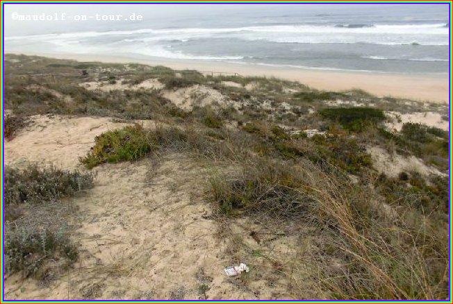 2016-10-20 Strand nahe Marinha Grande 1