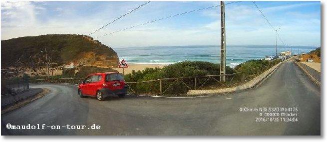 2016-10-26 Praia Sao Juliao Anfahrt