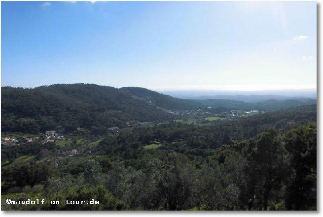 2017-01-12 Serra de Monchique Aussicht Lokal Lura da Foia