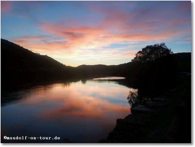2017-10-22 Sonnenuntergang Pomarao 1