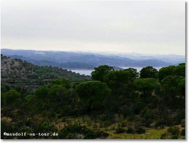 2018-01-22 Sicht auf Fluss Guadiana