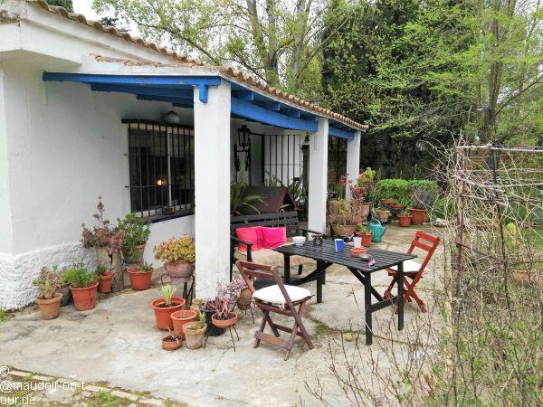 2018-04-15 Hinojos Terrasse