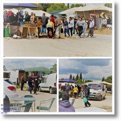 2018-05-01 Bilder Monte da Rocha Markt Schlägerei