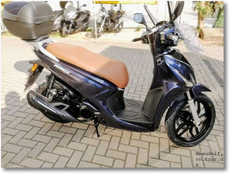 2018-09-04 Roller Kymco New People 125i Nr
