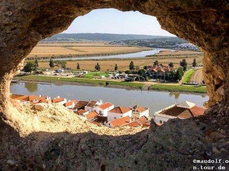 2018-11-16 Alcacer do Sal Sicht auf Fluss1
