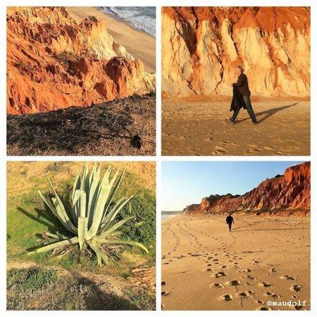 2018-12-14 Praia Falesia 1-COLLAGE