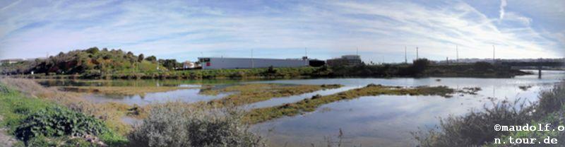 2018-12-22 Fluss Ribeira de Bensafrim