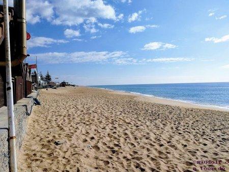 2019-01-17 Praia de Faro Strand 1