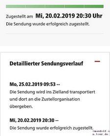 2019-02-25 DHL Zielland
