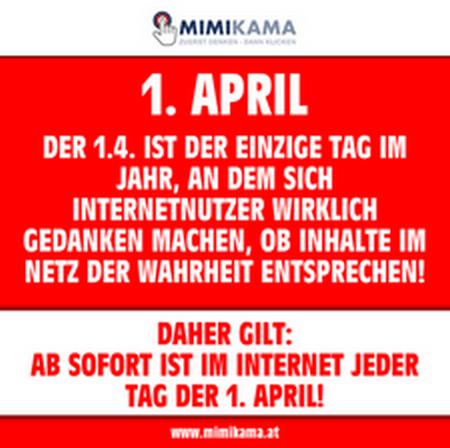 2019-04-01 Aprilspruch von Mimikama