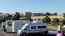 2019-05-04 Badajoz Stellplatz