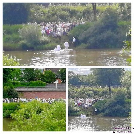 2019-06-23 Taufe im Neckar