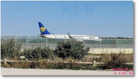 2020-01-12 Landbahn Flugzeug