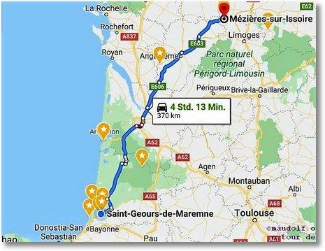 2020-02-29 Route Sand-Geours-de-Maremne nach Mezieres-sur-Issoire Schafe